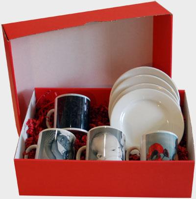 Juego de tazas de caf originales regalos for Juego tazas cafe