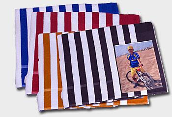 Toallas originales de playa a rayas regalos - Toallas de playa originales ...